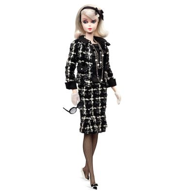 Boneca Barbie Colecionável - Vestido Xadrez - Mattel