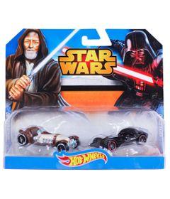 Veiculos-Hot-Wheels---Serie-Star-Wars---Obi-Wan-Kenobi-e-Darth-Vader---Mattel
