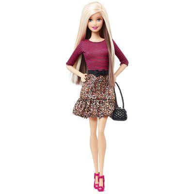 Boneca Barbie Fashionistas - Balada - Barbie Vestido de Oncinha - Mattel