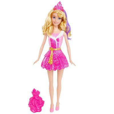 Boneca Banho Mágico - Princesas Disney - Aurora - Bela Adormecida - Mattel
