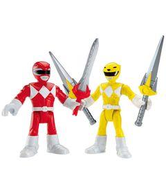 Mini-Figuras-Imaginext-Go-Go-Power-Rangers-Rangers-Amarelo-e-Vermelho-Fisher-Price