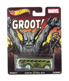 Carrinho-Hot-Wheels-Cultura-Pop-Marvel-Groot-Surfin-School-Bus-Mattel