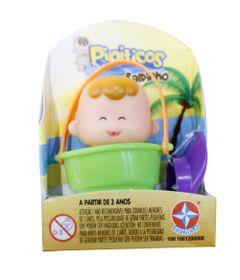 Mini-Boneco-Pipitico---Minininho-com-Baldinho-Verde---Estrela