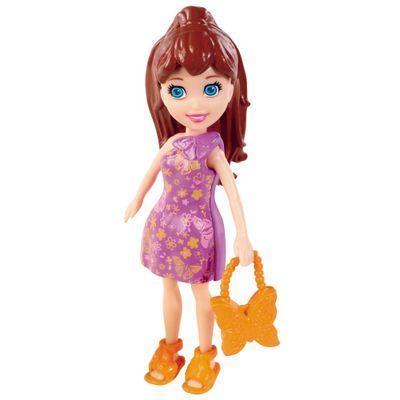 Boneca Polly Pocket - Lila com Bolsa de Borboleta - Mattel