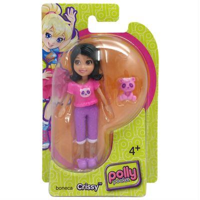 Boneca Polly Pocket - Crissy de Pijama com Panda - Mattel