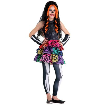 Fantasia Monster High - Skelita - Sulamericana