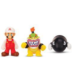 5026418-3525-Figura-Micro-Land-World-Of-Nintendo-Fire-Mario-Bowser-Jr-e-Bullet-Bill-Super-Mario-Bros-DTC