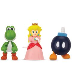 5026418-3525-Figura-Micro-Land-World-Of-Nintendo-Yoshi-Princesa-Peach-e-Bomb-Omb-Super-Mario-Bros-DTC