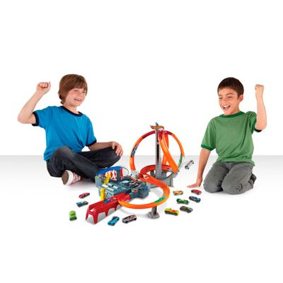 Pista-Hot-Wheels---Loopings-Revolution---Mattel-1
