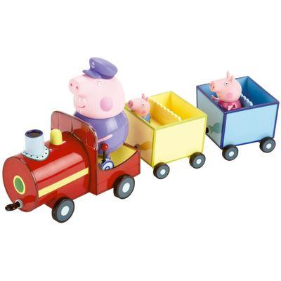 Playset Peppa Pig - Trem do Vovô - Estrela