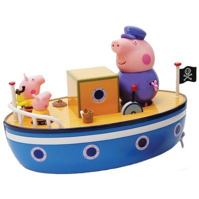Playset Peppa Pig - Barco do Vovô - Estrela