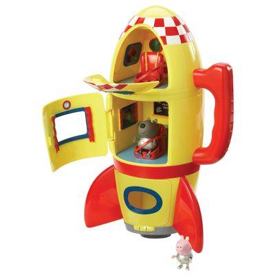 Playset Peppa Pig - Foguete do George - Estrela