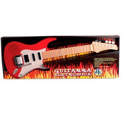Guitarra Eletrônica Vermelha - DTC