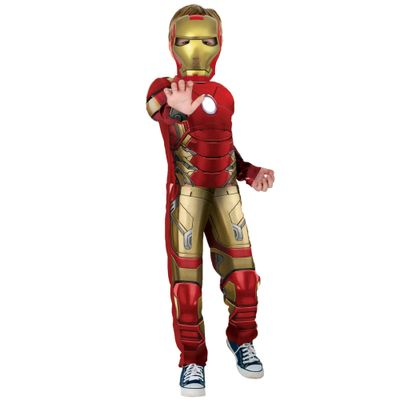 Fantasia Luxo - Iron Man - Avengers - Age Of Ultron - Rubies - G - Disney