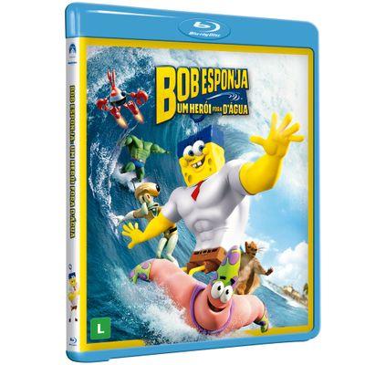 Blu-Ray - Bob Esponja O Filme - Um Herói Fora D'Água - Paramount
