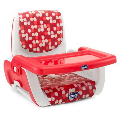 Cadeira de Alimentação Booster e Assento Elevatório Mode Scarlet - Chicco