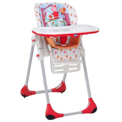 Cadeira de Alimentação com Encosto de 3 Posições - New Polly 2 em 1 Happy Land - Chicco