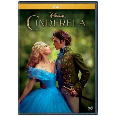 DVD - Cinderela 2015 - Disney