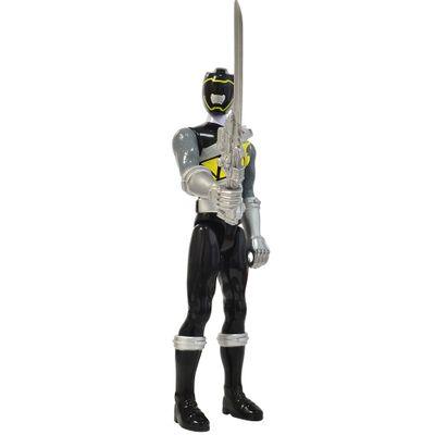 Boneco-de-Acao---Power-Ranger-Dino-Charger---Ranger-Preto---Sunny