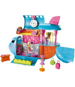 Playset-Polly-Pocket---Pocket-Show---Aviao-da-Turne---Mattel