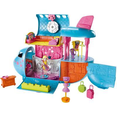 Playset Polly Pocket - Pocket Show - Avião da Turnê - Mattel
