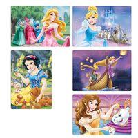 Quebra-Cabeca-Princesas-Disney---Pack-com-6---300-Pecas---Toyster-1