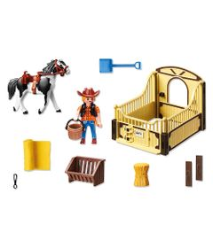 Playmobil-Country---Cavalo-Malhado---5516