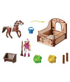 Playmobil-Country--Cavalo-Marrom-Escuro---5518
