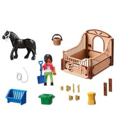 Playmobil-Country---Cavalo-Preto---5519