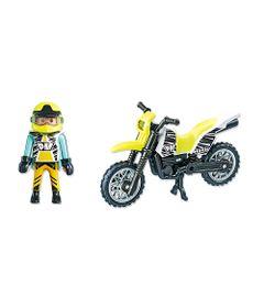Playmobil-Esporte-e-Acao---Motocicleta-Verde-e-Branco---5525