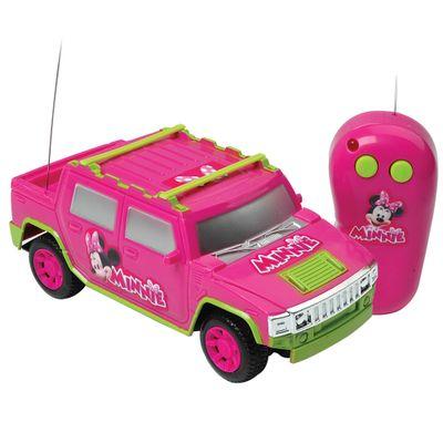 Carrinho de Controle Remoto - Super Aventura Minnie Mouse - Candide - Disney