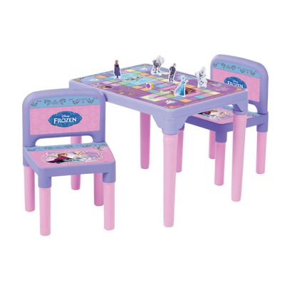Mesa de Atividades Com Cadeiras - Disney Frozen - Multibrink