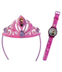 Kit-Disney-Frozen---Tiara-e-Relogio-Digital-Anna---Candide