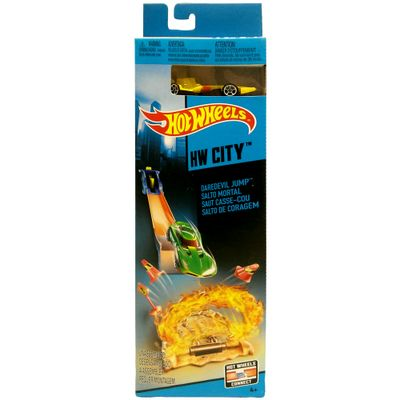 Pista Básica Hot Wheels - Salto Mortal - Mattel