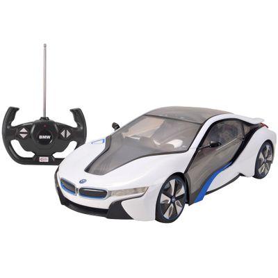 Carro de Controle Remoto - BMW I8 Branco - 1:14 - CKS