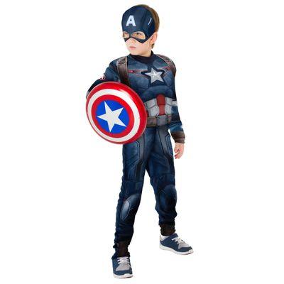 Fantasia Luxo - Capitão América - Avengers Age Of Ultron - Rubies - G - Disney