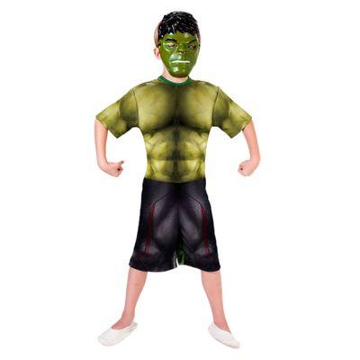 Fantasia Curta - Hulk - Avengers - Age Of Ultron - Rubies - G - Disney
