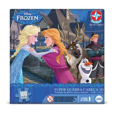 Quebra-Cabeca-3D---Disney-Frozen---Estrela