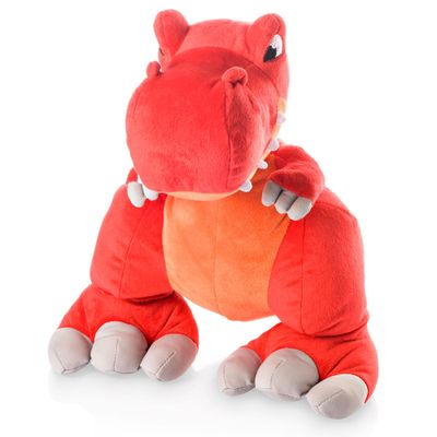 Pelúcia de Dinossauro - Vermelho - Multikids