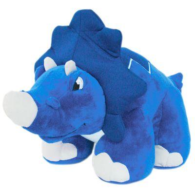 Pelúcia de Dinossauro - Azul - Multikids