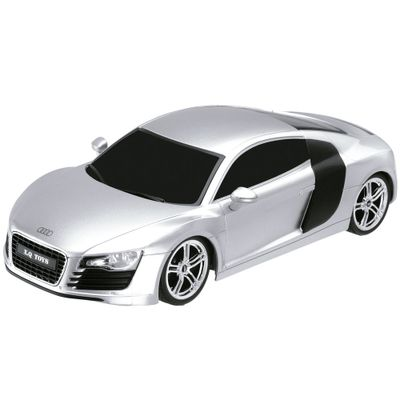 Carrinho de Controle Remoto - Audi R8 - 1:18 - Multikids