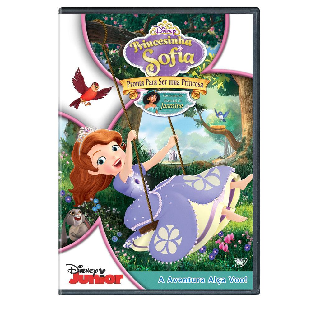 DVD Princesinha Sofia - Pronta Para Ser Uma Princesa - Disney