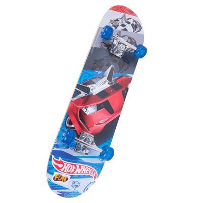 Skate com Acessórios Hot Wheels - Roda Azul - Serie 2 - Barão Toys