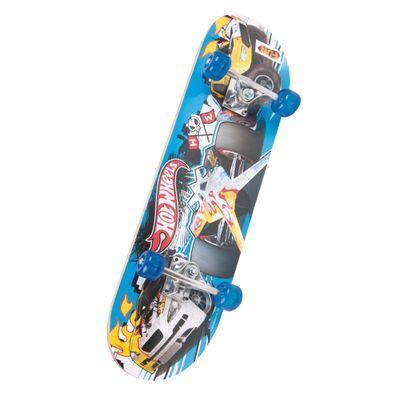 Skate com Acessórios Hot Wheels - Roda Azul - Série 3 - Barão Toys