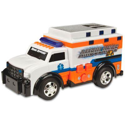 Ambulância Branco e Laranja - Road Rippers - Mini Rush & Rescue - DTC