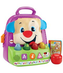 Mochila-Animada-do-Cahorrinho---Aprendendo-a-Brincar---Fisher-Price