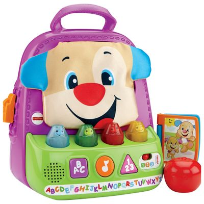 Mochila Animada do Cahorrinho - Aprendendo a Brincar - Fisher-Price
