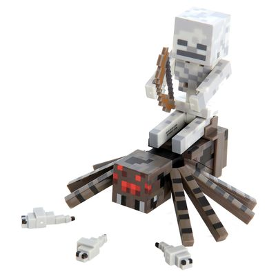 Boneco-com-Acessorios---Minecraft---Spider-Jockey---Multikids