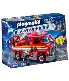 Playmobil-City-Action---Caminhao-de-Bombeiro---5980