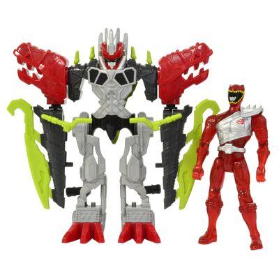 Boneco Power Ranger Dino Charger - Armadura Zord de Luxo - Sunny